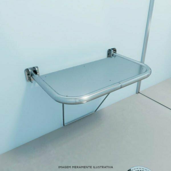 Banco articulado para banho pne 50x70