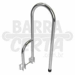 Barra articulada para vaso sanitário