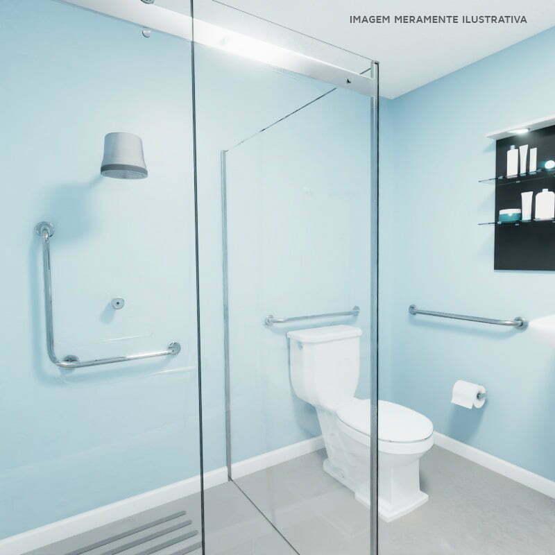 Barra de segurança para banheiro kit básico
