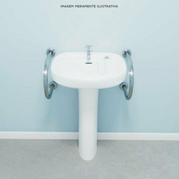 Barra para lavatorio centralizado