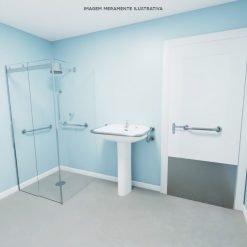 Adaptação básica de banheiros PNE
