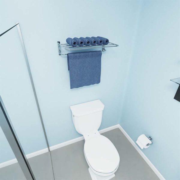 Porta Toalha Para Banheiro